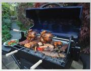 Barbeskew Barbecue Rotisserie for great grilling