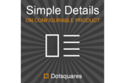 Simple product details on configurable product Magento Extension