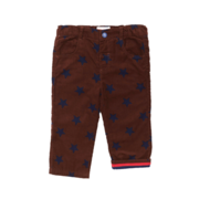 Brown Star Trousers| Tilly & Jasper
